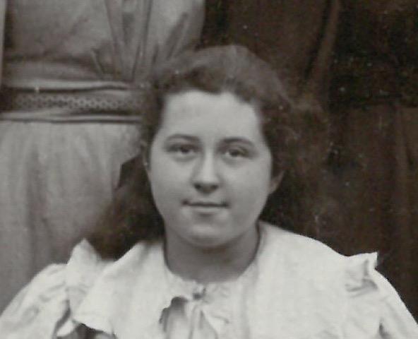 Close up of Sydney Mary Bushell