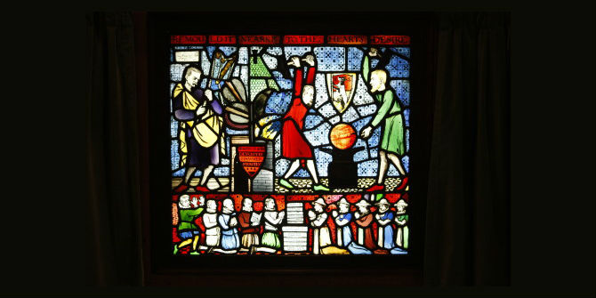 Hammering out a new world – the Fabian Window at LSE