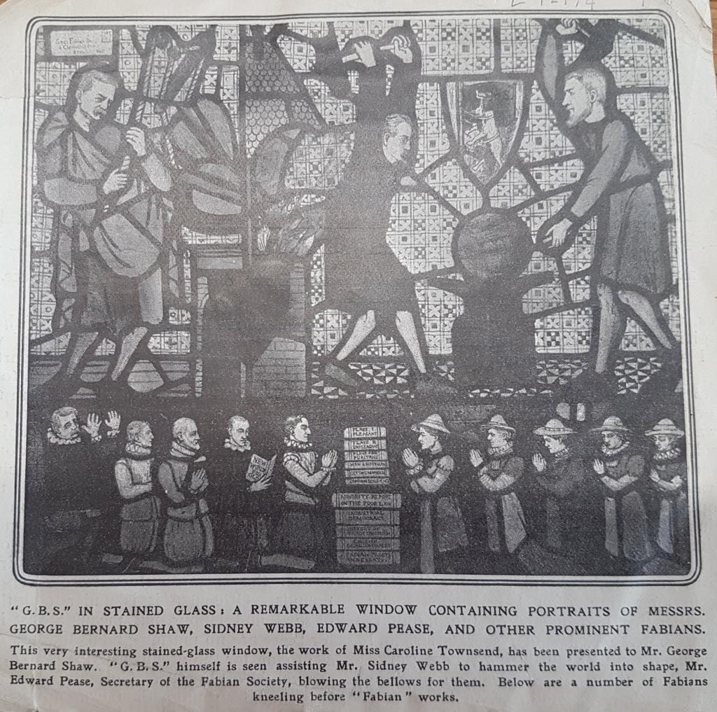 Sketch Fabian Window 1911