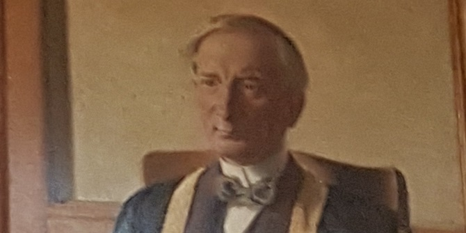 A Vice Chancellor's portrait – Sir William Beveridge in the Shaw Library