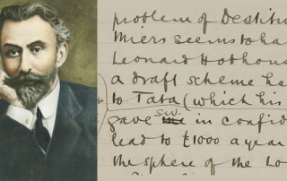 Ratan Tata and an extract from Beatrice Webb's diary