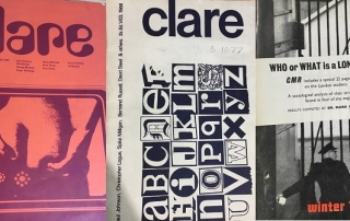 Clare Market Review covers from the 1960s