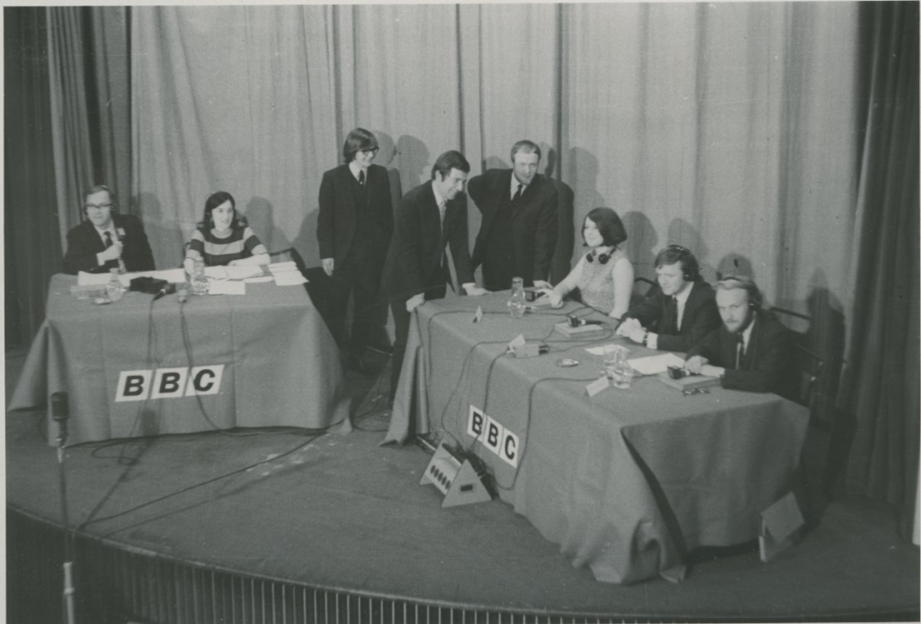 Third Degree filming. Credit: LSE Library