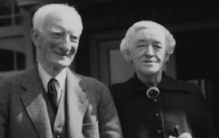 Lord and Lady Beveridge c1957 credit LSE Library
