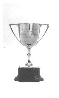 The Anstey Cup Badminton Mens Doubles championship 1954