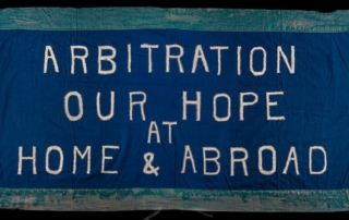Arbitration our hope banner