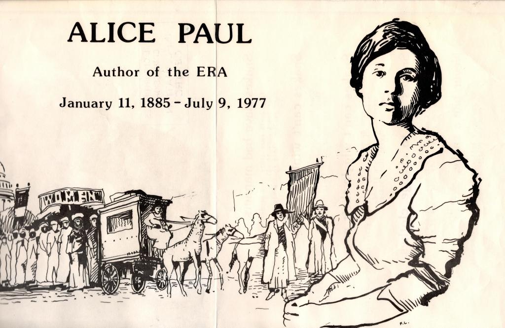 Alice Paul poster