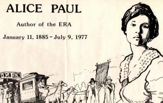 Alice Paul line drawing