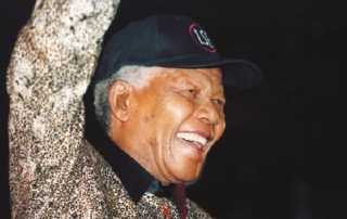 Nelson Mandela visits LSE. 6th April 2000