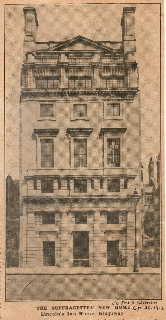 Lincoln's Inn House. Credit: LSE Library