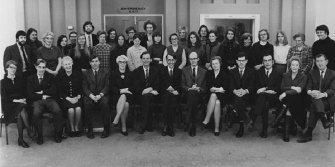 """""""A pillar of the department"""" – Sally Sainsbury at LSE"""