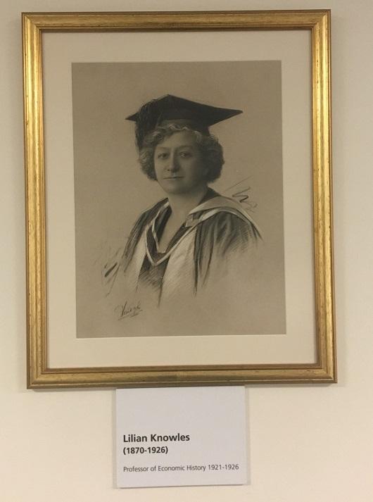 Lilian Knowles portrait in Sardinia House credit Jennie Stayner