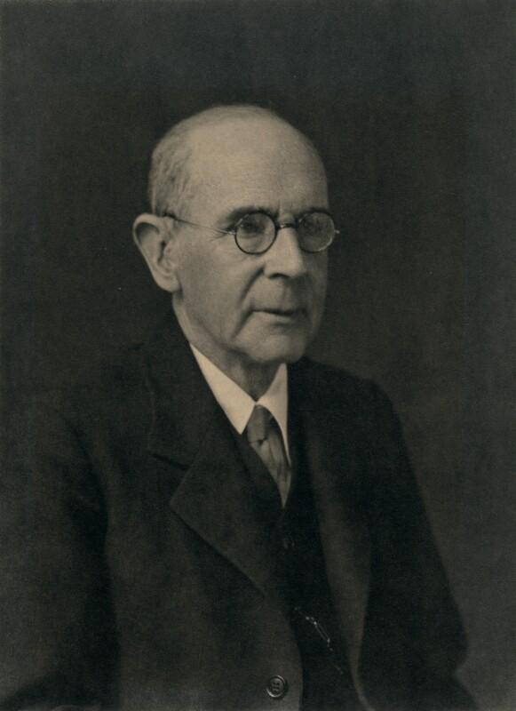 Goldsworthy Lowes Dickinson, by Walter Stoneman, bromide print, 1931. Credit: NPG