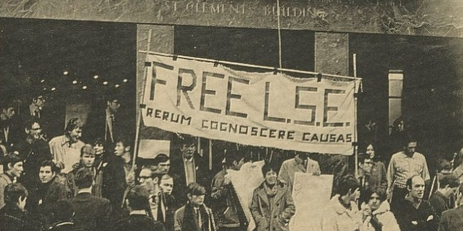 Red flag over Houghton Street? The radical tradition at LSE – myth, reality, fact