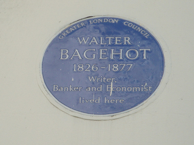 The great constitutional scholar, Walter Bagehot's house (Credit: Gwynhafyr, CC by ND 2.0)