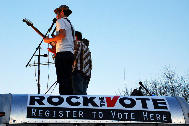 Rock the Vote image