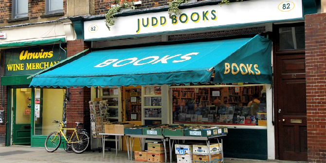 The Best Bookshops In Bloomsbury London Lse Review Of Books