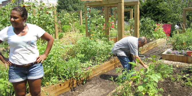 Book Review Community Gardening as Social Action by Claire Nettle