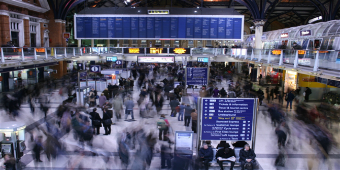 Rush Hour Liverpool Street