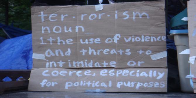 Conceptualizing Terrorism Image