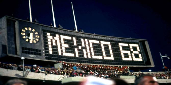 Mexico 68 photograph
