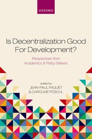 is Decentralization Good for Development cover