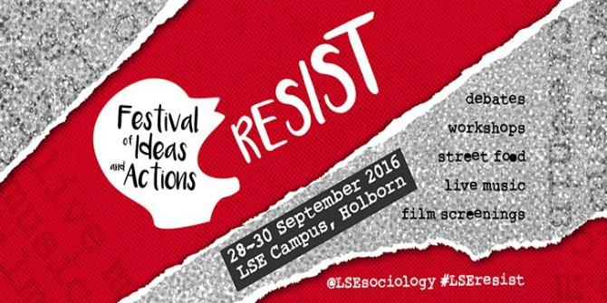 LSE Resist Festival Image