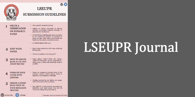 LSEUPR Journal