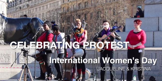 Celebrating Protest: International Women's Day