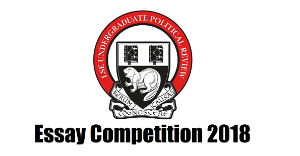 2018 ESSAY COMPETITION – WINNERS