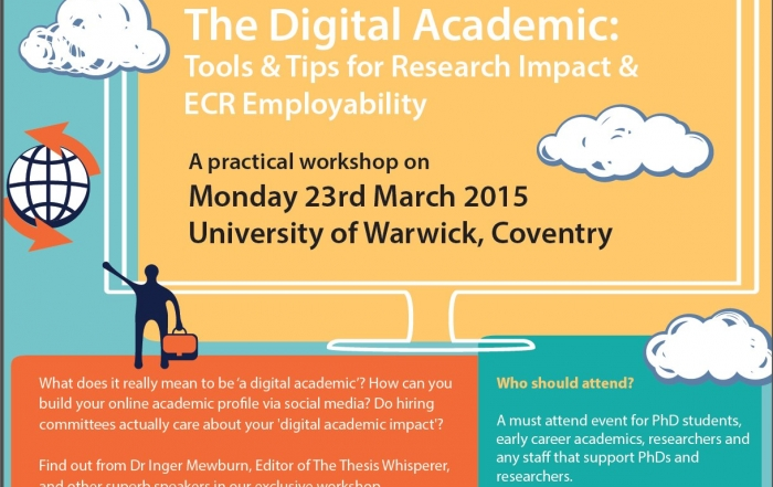 The Digital Academic: Tools and Tips for Research Impact