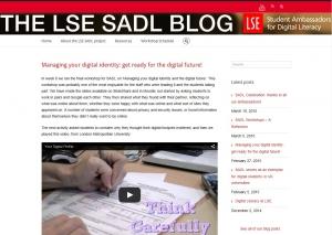 SADL blog