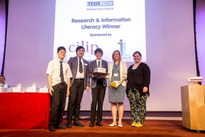 TeenTech Research and Information Literacy Winners - Birkdale School, Sheffield