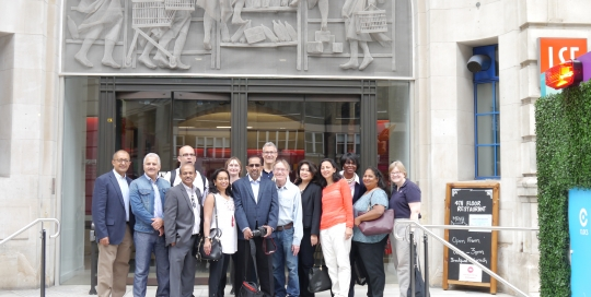 A memorable year of LSE friendships revitalised 25 years later