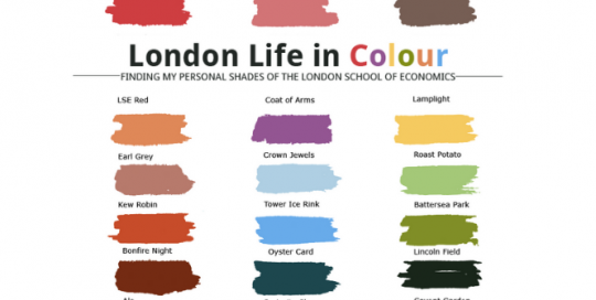 London life in colour: stories of LSE in a personal brand palette