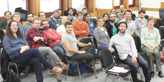 Report of the Large-Scale Structures in Random Graphs Workshop