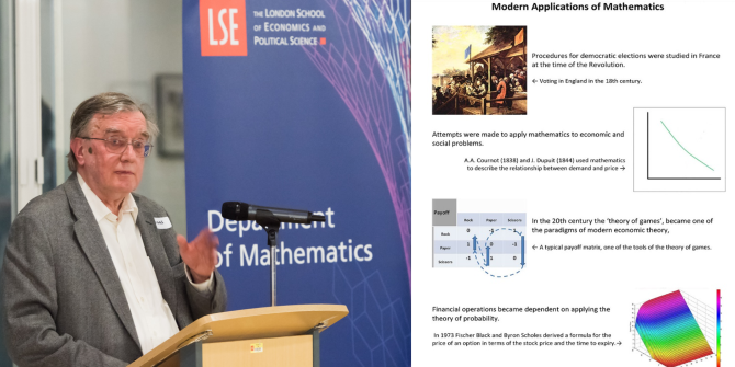 Norman Biggs – History of Mathematics: The LSE Course