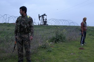 Kurdish militias in Syria have controlled the oil rich area of Rumelan since early March. copyright IPS, flickr.com, 2013