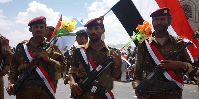 Yemen's Negotiated Transition between the Elite and the Street