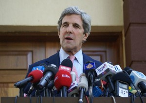 John Kerry, copyright Al-Jazeera English, source: flickr.com