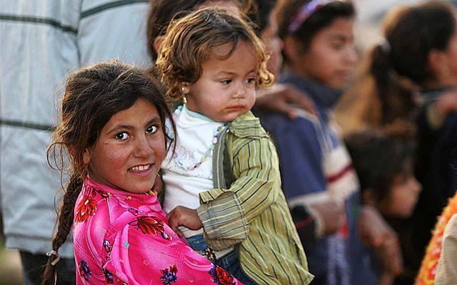 Iraqi refugee children, Damascus, Syria, 2012. Wikimedia Commons
