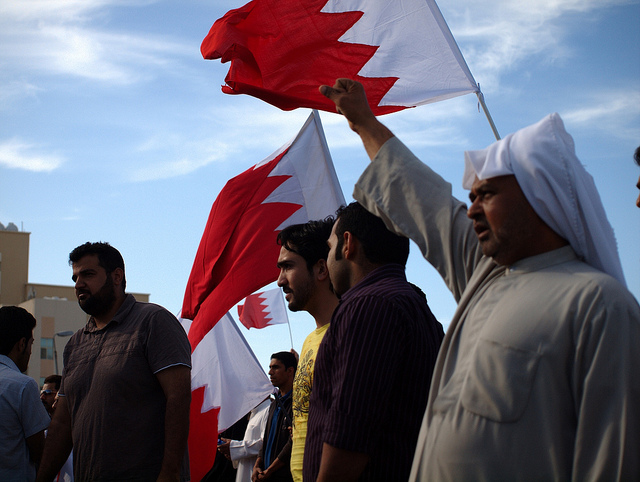 Protests in Bahrain, March 2011, copyright Al Jazeera English, source: flickr.com