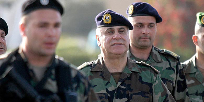 General Jean Kahwaji, Commander of the Lebanese Army, Photo: Haytham al-Moussawi