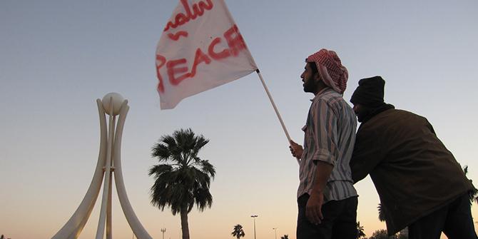 Pearl and Peace, copyright Al Jazeera English, Bahrain, 2011