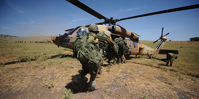 Nahal's Brigade Wide Drill, 2012. IDF, source: flickr.com