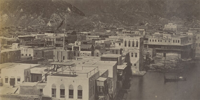 Muscat Consulate & Agency, c. 1870.