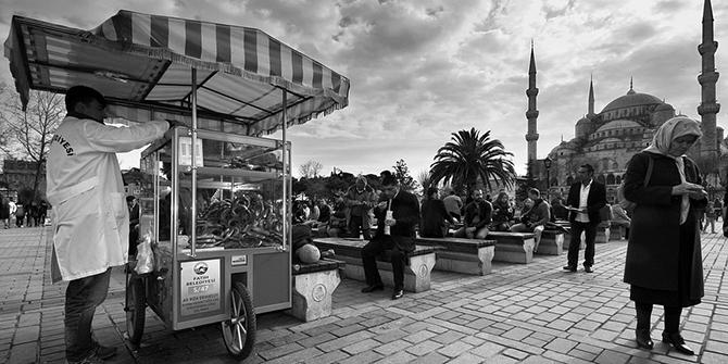 Blue Mosque Square, Istanbul, 2014. © Miguel Virkkunen Carvalho, flickr.com