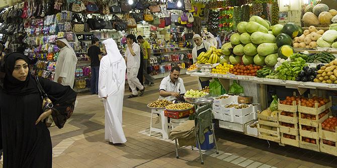 Market in Kuwait, © Darren Puttock, 2012.