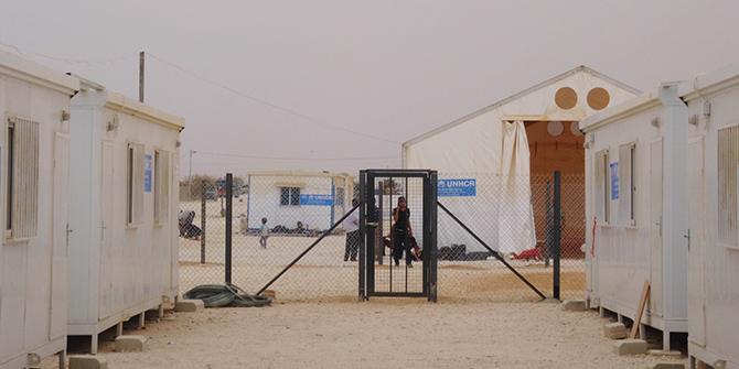 Zaatari Camp, Jordan. © CDC Global, 2013.