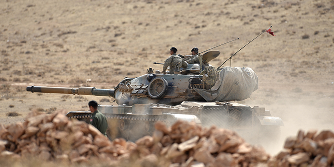 What the Bashiqa Dispute and Operation Euphrates Shield tell us about Turkey's changing foreign policy